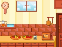 Флеш игра Побег с запертой кухни
