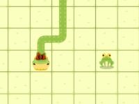 Флеш игра Побег змеи