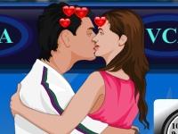 Флеш игра Поцелуи на теннисном корте