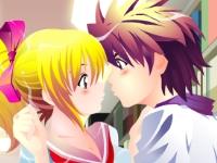 Флеш игра Поцелуи в библиотеке