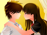 Флеш игра Поцелуи в классе