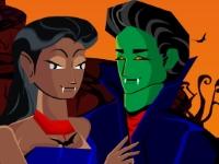 Флеш игра Поцелуи вампиров