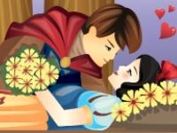 Флеш игра Поцелуй Белоснежку