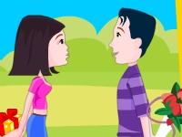 Флеш игра Поцелуй с сюрпризом