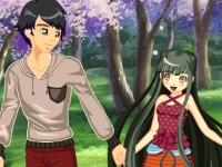 Флеш игра Под деревом сакуры
