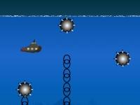 Флеш игра Подводная лодка морской Дракон