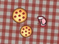 Флеш игра Поедание пиццы