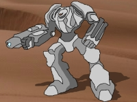 Флеш игра Поединок роботов