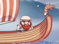 Флеш игра Поединок викингов