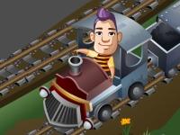 Флеш игра Поезд-экспресс