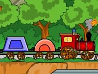 Флеш игра Поезд из фигурок 2