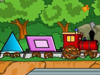 Флеш игра Поезд из фигурок 3
