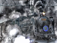 Флеш игра Поезда: Скрытые предметы