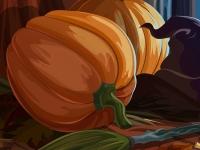 Флеш игра Поиск букв на Хэллоуин