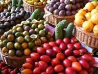 Флеш игра Поиск чисел в корзинах с фруктами