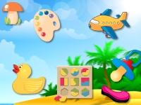 Флеш игра Поиск игрушек
