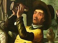 Флеш игра Поиск на картине мастера