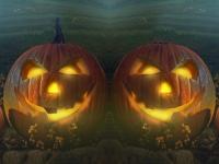 Флеш игра Поиск отличий на Хэллоуин