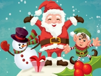Флеш игра Поиск отличий на Новый Год 2014