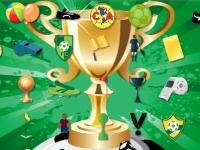 Флеш игра Поиск предметов на чемпионате мира по футболу