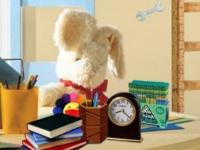 Флеш игра Поиск предметов в детской комнате с игрушками