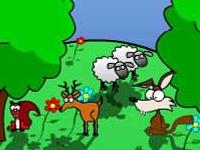 Флеш игра Поиск животных