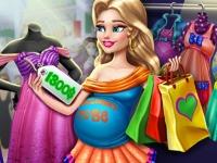 Флеш игра Покупки для беременной мамочки