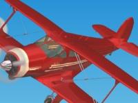 Флеш игра Полет 3D: Обучение высшему пилотажу