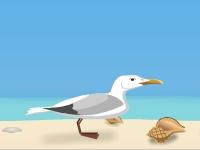 Флеш игра Полет чайки