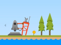 Флеш игра Полет на ракете в чудесные земли