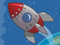 Флеш игра Полет ракеты в космосе