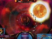 Флеш игра Полет в космосе