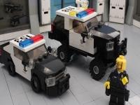 Флеш игра Полицейский Додж Чарджер Лего: Пазл