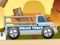 Флеш игра Полицейский грузовик
