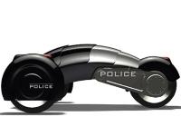 Флеш игра Полицейский робот-автомобиль