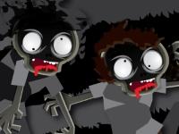 Флеш игра Полный дом зомби