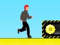 Флеш игра Полоса препятствий - паркур
