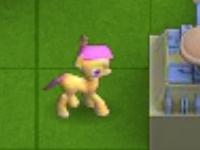 Флеш игра Пони