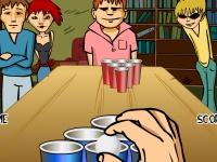 Флеш игра Попади в стакан
