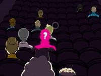 Флеш игра Попкорн в кино