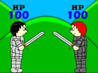 Флеш игра Пошаговые драки на двоих