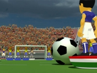 Флеш игра Пошаговый футбол 3D