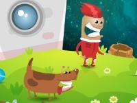 Флеш игра Потерянный астронавт
