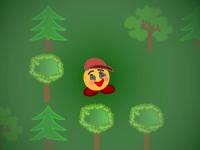Флеш игра Потерявшийся в лесу 2: Ночное приключение