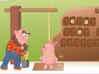Флеш игра Повесить свинью или угадай слово