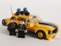 Флеш игра Пожарная машина Лего: Пазл