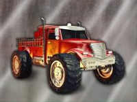 Флеш игра Пожарный грузовик монстр 2