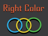Флеш игра Правильный цвет