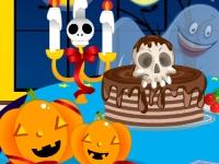 Флеш игра Праздничный стол на Хэллоуин