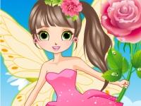 Флеш игра Прекрасная цветочная фея